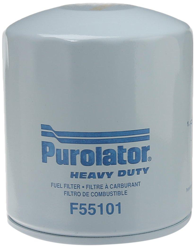 Purolator F55101 Classic Fuel Filter Dirty On Truck