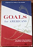img - for Goals for Americans book / textbook / text book