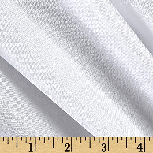Preview Textile Group 100% China Silk Lining Fabric by The Yard, White