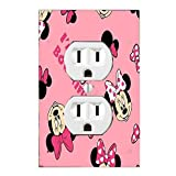 Disney Baby Minnie Mouse Sweet Wonder Light Switch Cover Nursery (1 x Outlet Cover)