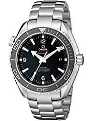 Omega Seamaster Planet Ocean 600 Meters Co-Axial Black Dial Mens Watch (Model:232.30.46.21.01.001)