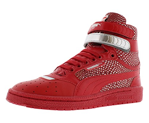 PUMA Women's Sky Ii Hi Futur Minimal WN's Basketball Shoe, Barbados Cherry, 8 M US by PUMA