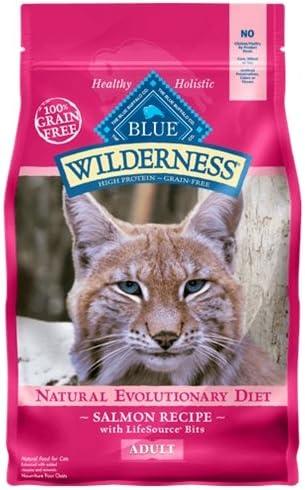 Blue Buffalo Wilderness Salmon Recipe 11 lb Cat Food