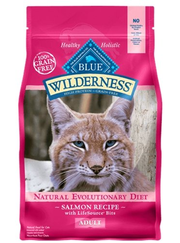 Blue Buffalo Wilderness Grain Free Dry Dog Food, Salmon Recipe, 11-Pound Bag