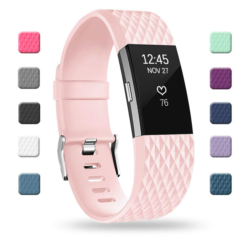 Malla Small para Fitbit Charge 2 Rosado -7G88YCMR