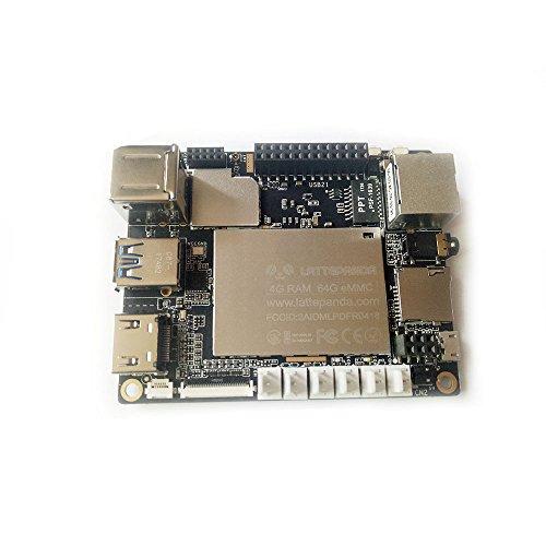 SmartFly info LattePanda (2G/32GB Version) Full Windows 10/Linux miniPC Intel X86 X64 Quad Core 1.8GHz Arduino Development Board (Single Board Computer Linux)