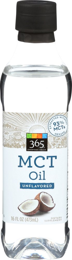 365 Everyday Value Mct Oil Unflavored, 16 fl oz