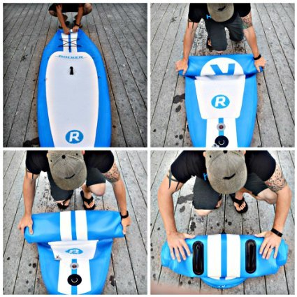 iRocker Paddle Boards 11' transport