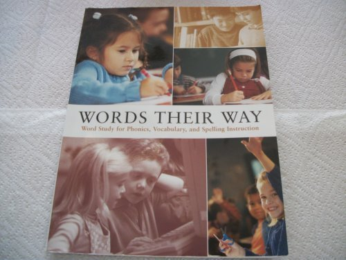 Words Their Way Word Study for Phonics, Vocabulary, and Spelling Instruction by Marcia Invernizzi, and Shane Templeton (2004-05-03) (Words Their Way 2004)