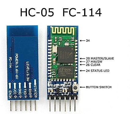 RG Retail HC05 Bluetooth Module for Arduino
