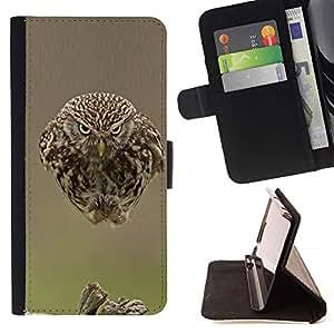 Momo Phone Case / Flip Funda de Cuero Case Cover - Les plumes d'oiseau Blurry bébé Printemps - Sony Xperia Z5 Compact Z5 Mini (Not for Normal Z5)