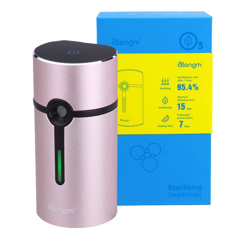 Activated Oxygen Refrigerator Deodorizer Filter. Mini Size Multi-purpose Sterilizing Deodorizer Purifier for Fridge Cooler Chamber, Shoe Closets, Cabinets, Wardrobes, Car, Travelling cases, etc