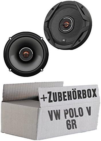 Jbl Gx602 2 Wege 16cm Koax Lautsprecher Einbauset Für Vw Polo 6r Front Heck Just Sound Best Choice For Caraudio Navigation