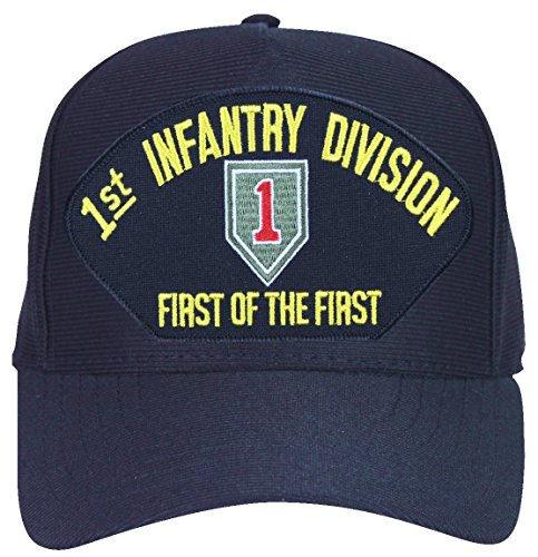 - MilitaryBest 1st Infantry Division 'First of the First' with Patch Ball Cap