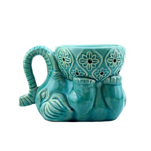 SUPVOX Quemador de Aceite Esencial Soporte de luz de té de ...