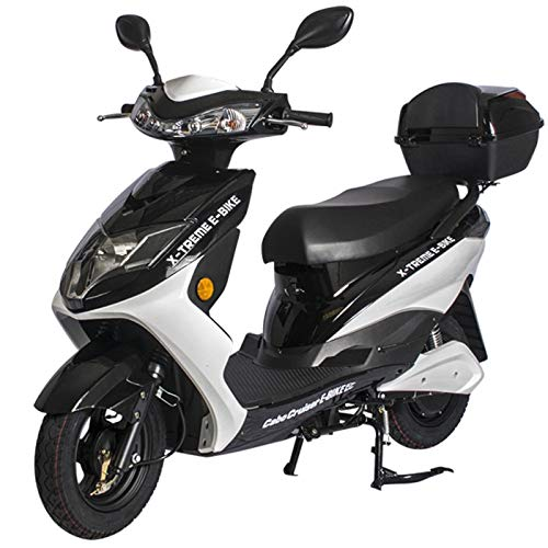 (Cabo Cruiser Elite Electric Scooter Bicycle 20 Amp Battery System X-Treme Electric - Black)