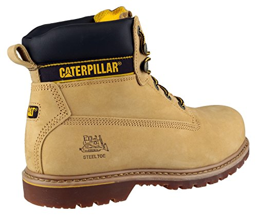 Safety Compression Mens Workwear Boots Resistant Holton Honey Cat pXtq4p