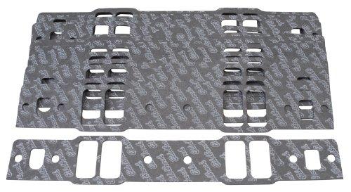 Edelbrock 72068 Intake Manifold Gasket Set For Chevy Small Block Intake Manifold PN[2814] For GM Cast Iron Bowtie V 0.060 in. Thick 10 Pack Intake Manifold Gasket Set by Edelbrock