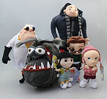 Amazon.com: 6 pcs/Set Despicable Me Minions Niñas Agnes ...