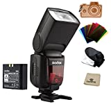 Godox Ving V860II-S 2.4G HSS 1/8000 TTL Li-on Battery V860II Camera Flash Speedlite for Sony A7 A7R A7S A7II A7RII A58 A99 A6000 A6300 Camera