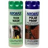 Nikwax Tech Wash/Polar Proof Twin Pack Clean/Proof Value Pack