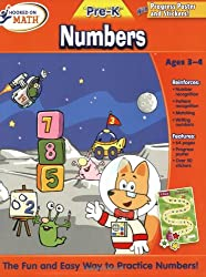 Hooked on Math Pre-K Numbers Workbook
