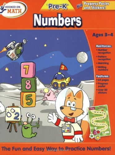 Hooked on Math Pre-K Numbers Workbook pdf