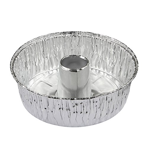 Pactiv Angel Food Pan with Preset Cup, 47.2 oz, 7.25'' Diameter x 2.593'' Height Pack of 25