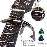 Best Guitar Capos - Imelod MC-30 Zinc Alloy Guitar Capo Shark Capo Review