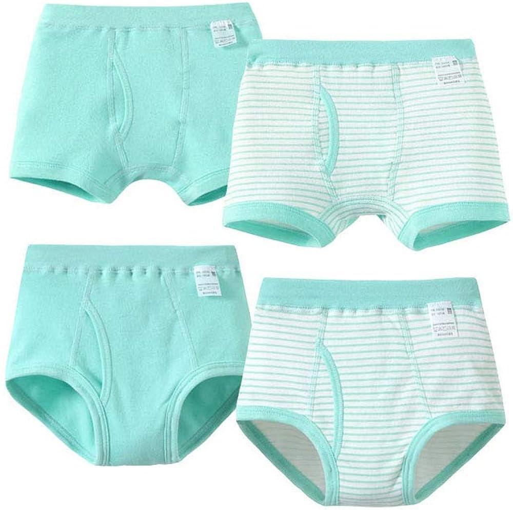 4G-Kitty Children Underwear Cotton Boy Boxer Underwear Briefs Baby Boy 4 Pieces