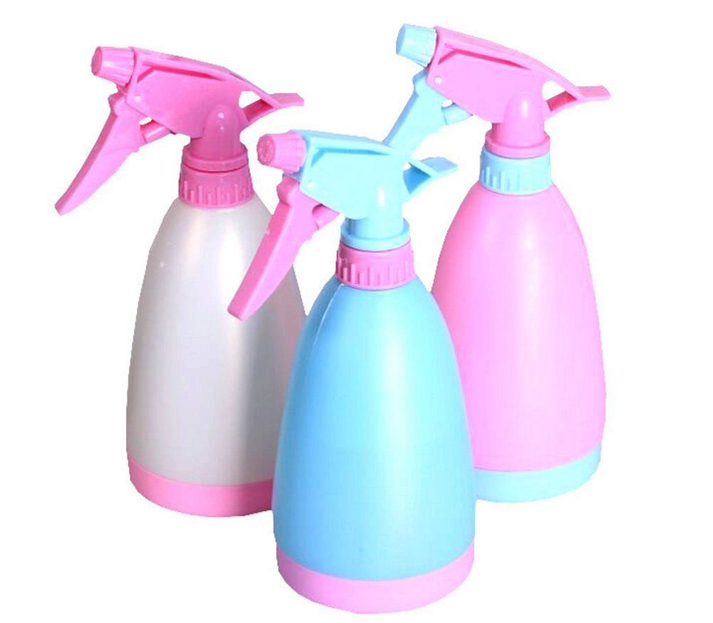 Chytaii Spray Bottle Tragger Sprrayer Hand Trigger Spray Bottles for Cleaning Gardening Beige