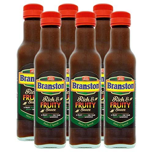 Branston Rijke & fruitige saus 245g (Pack van 6)