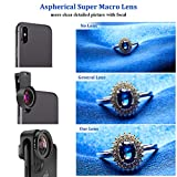 Phone Camera Lens,TODI 4K HD 2 in 1 120° Wide