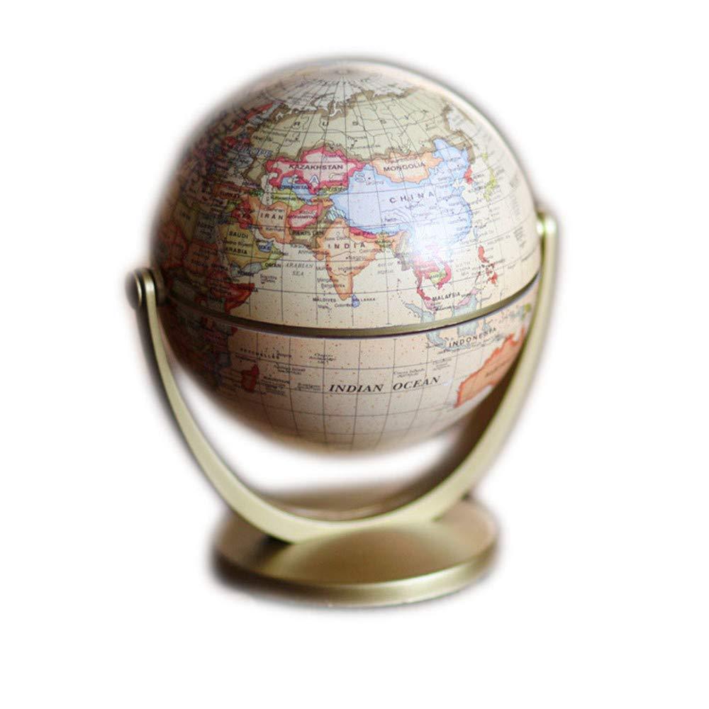 Educazione precoce in inglese per ripristinare modi antichi The Globe Furnishing Articles Globo terrestre universale Lo studio decora il metallo regalo squisito