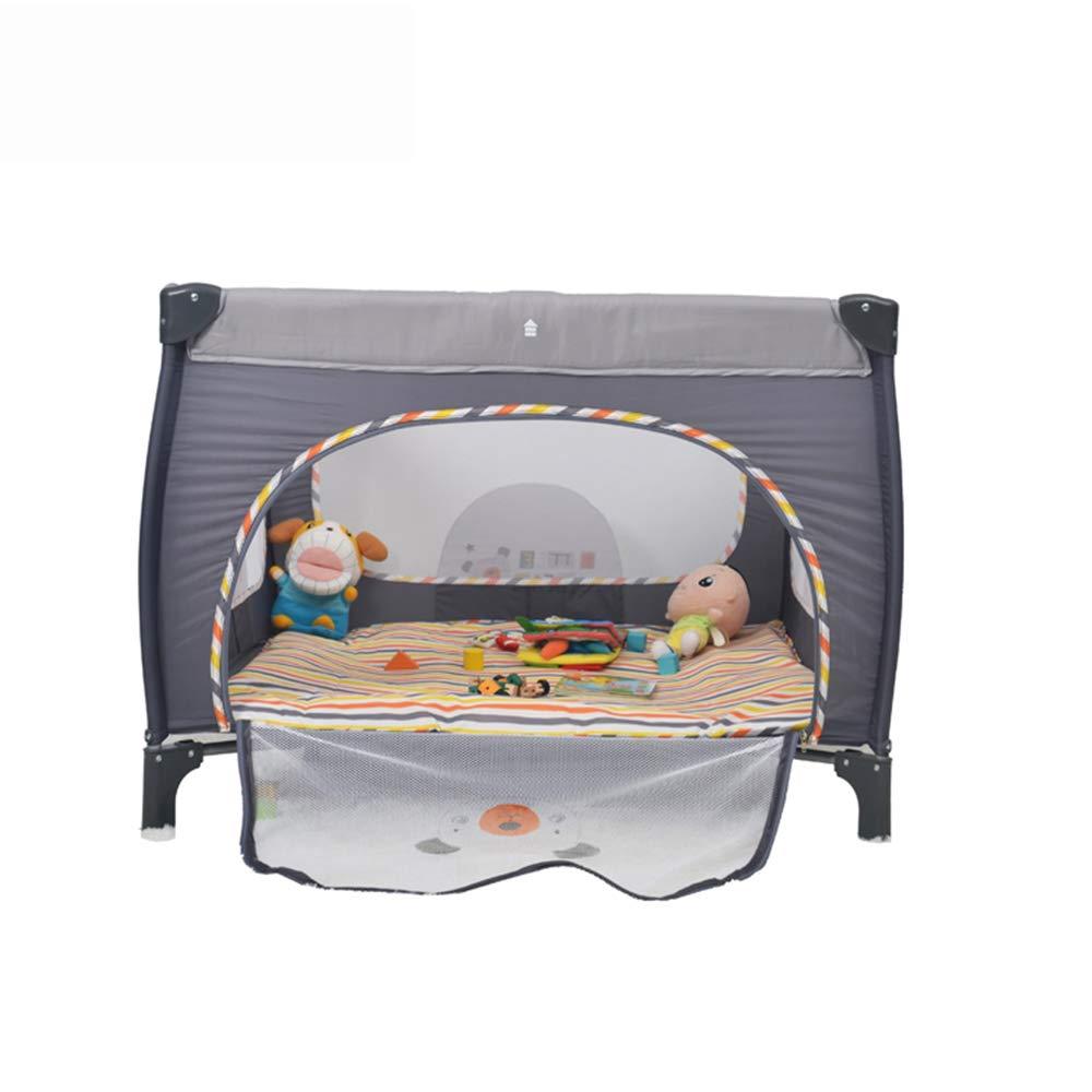 EN Standard Plastic Baby Travel cot Bed Set Crib Bedding with net