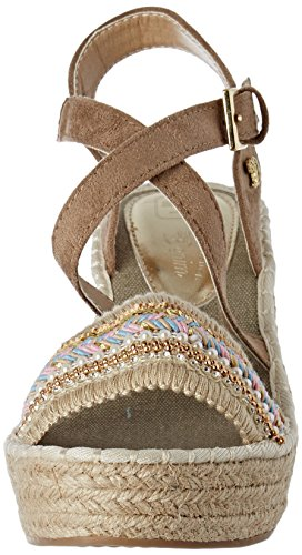Tom Tailor 2796605 - Tira de tobillo Mujer Beige (Sand)
