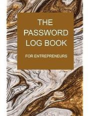 The Password Log Book for Entrepreneurs
