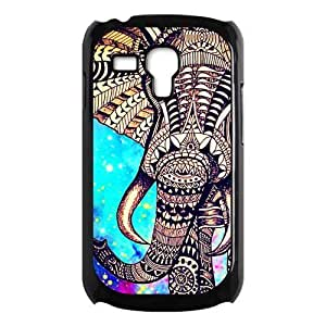 Aztec Vintage Elephant Protective Hard PC Back Fits Cover Case for Samsung Galaxy S3 SIII Mini i8190