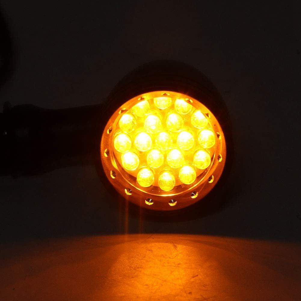 l/ámpara indicadora de giro universal LED de bala Qii lu Luces intermitentes LED para motocicletas intermitentes