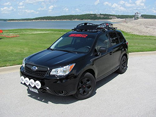 High Quality Amazon.com: Fits 2014 Subaru Forester 2.5i Rally Roof Rails From SSD  Performance, Black Powder Coated Stainless Steel, Custom Fit, NEW!:  Automotive
