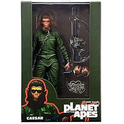 "NECA Planet of the Apes Classic Series 3 Caesar 7"" Action Figure: Toys & Games"