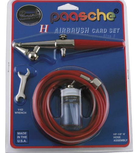 Paasche H-CARD Single Action Airbrush