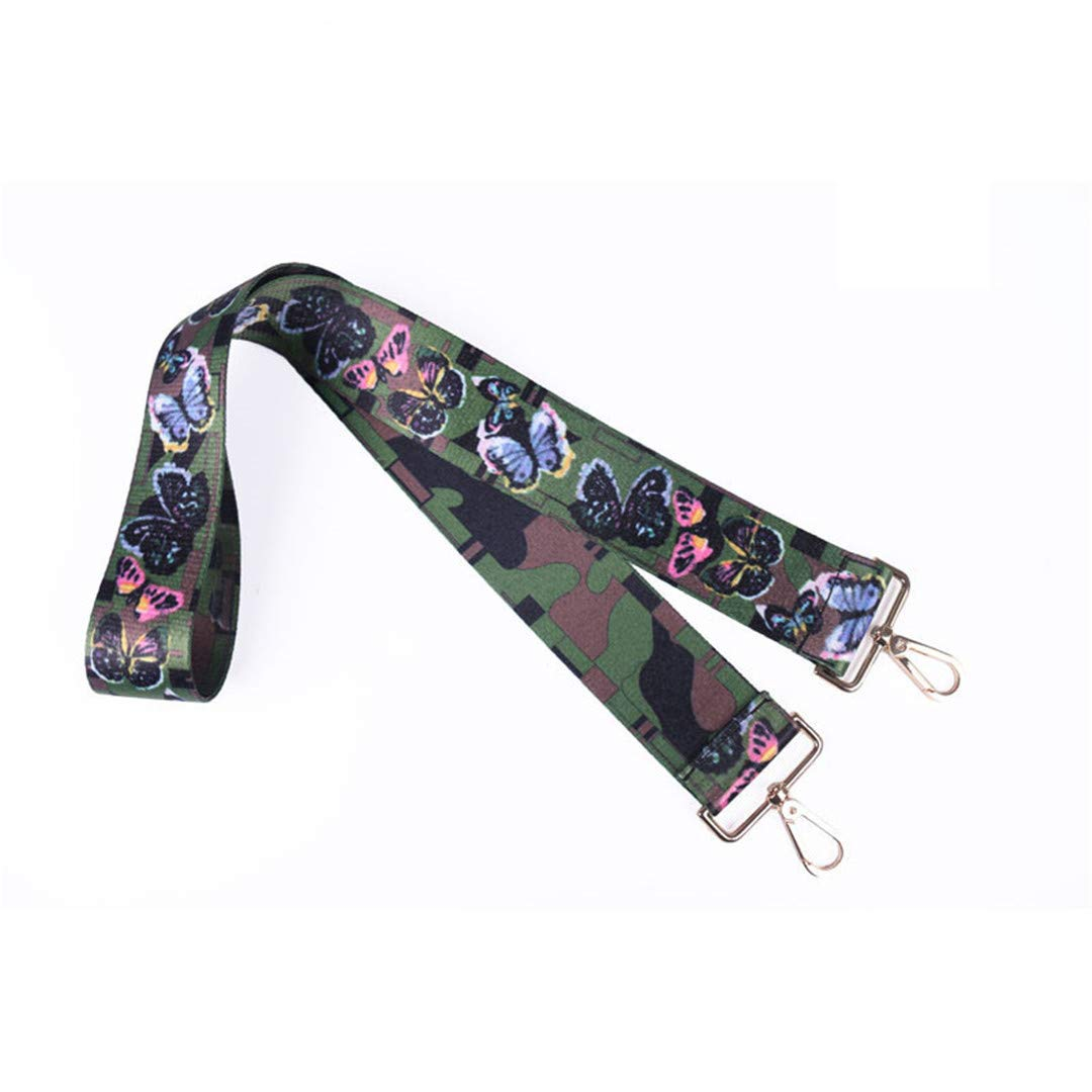 Colored Bags Straps Rainbow Belt Accessories Women Adjustable Shoulder Hanger Handbag Strap Decoration Handle Strap U19