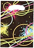 Creative Converting Glow Party Loot Bags Party Supplies, Multicolor