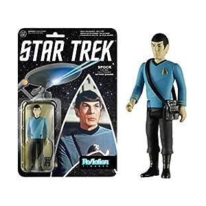 """Star Trek Spock Reaction Action Figure 3 3/4"""" Leonard Nimoy New!"""