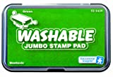 Educational Insights Jumbo Washable Stamp Pad Green