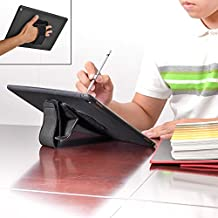 TFY Padded Hand-Strap plus Tablet PC Cover Case iPad Stand for iPad Pro - Black
