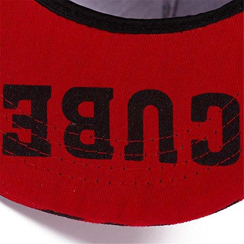 AxiEr Fashion Snapback Hip-Hop Hat Flat Peaked Baseball Cap for Four Seasons