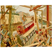 London Underground - New Works 1932 - LU072 Satin Paper A4 Size
