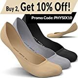Physix Gear Sport 3 Pairs No Show Socks Women & Men